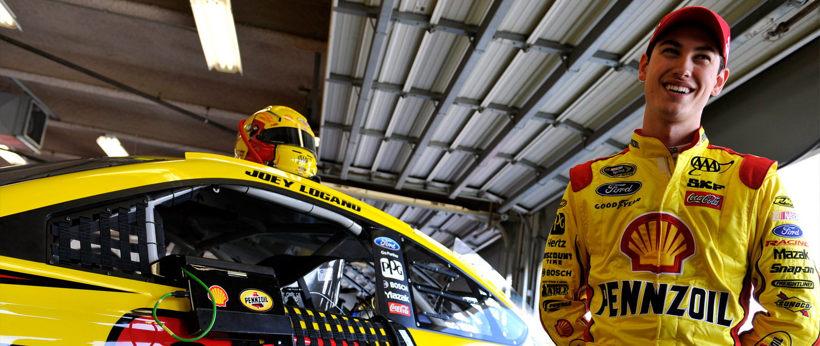 Joey Logano Daytona Preview 2014