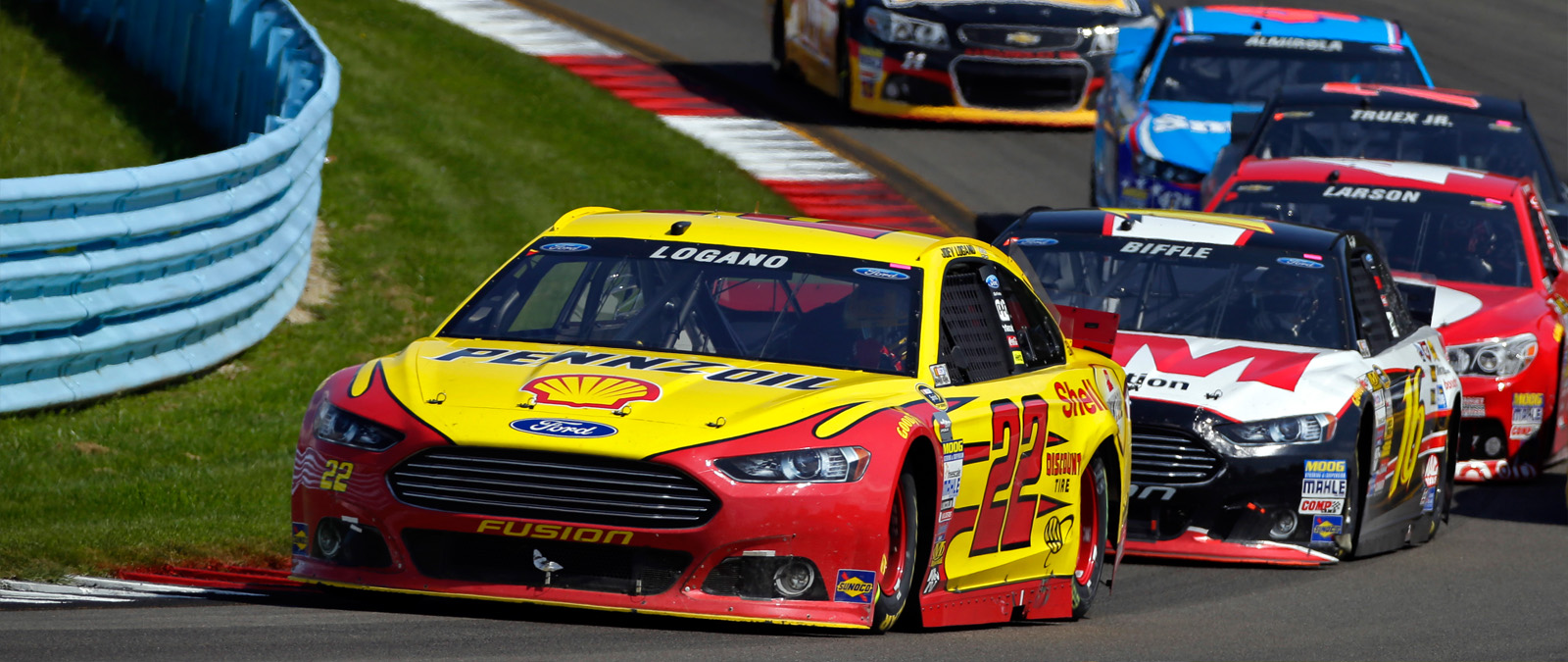 Joey Logano Racing WG August 2014