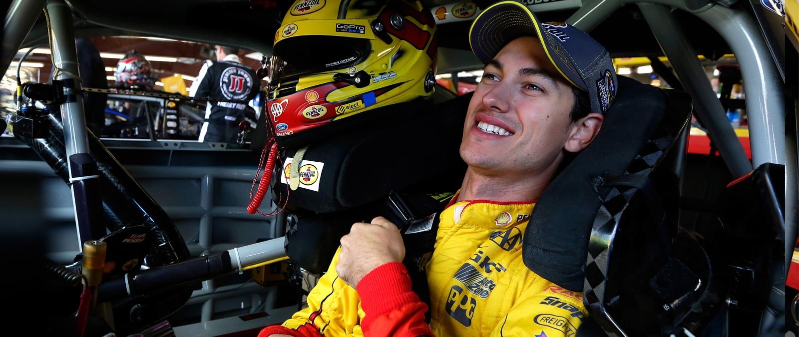 Joey Logano Loudon Race Preview 2014