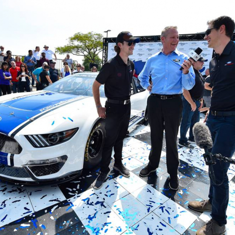 2019 Ford Mustang Unveil