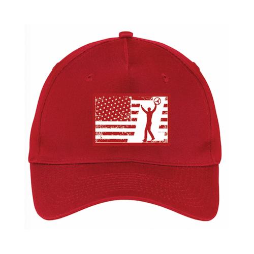 Red-JL-Flag-Hat
